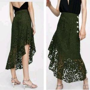 HOST PICK🎉🎉Blogges Fav🍏ZARA NWOT Lace Skirt